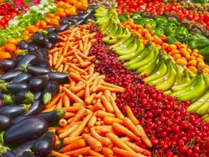 Seasonal vegies and fruits