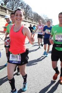 Ariane marathon de paris