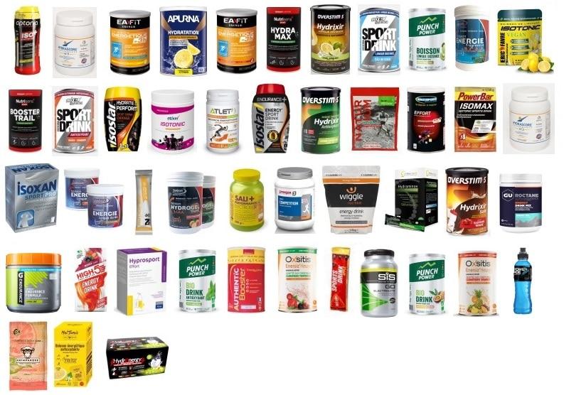 Comparatif des boissons énergétiques du marché 2020 - Nicolas Aubineau